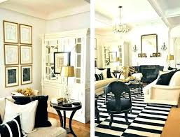 gold living room black and decor brown