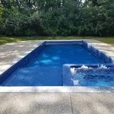 fiberglass pool shapes latham pools