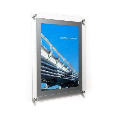 Image result for Acrylic poster holder""