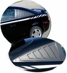07 10 Pontiac G5 Simulated Window Louver Decal Set