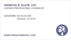 Ector County, TX Alcohol Abuse Therapists & Counselors - Find A Therapist