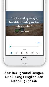 quotes creator bahasa offline for android apk