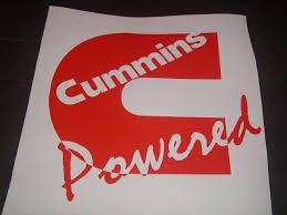 Cummins Power Window Decal