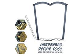 Dick Smith Fence Repair Tool Garden Wire Texas Fence Fixer Farm Fixing Patch Plain Barbed Fencing