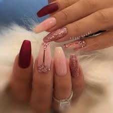acrylic nails designs for summer 2020
