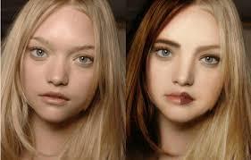 american makeup vs korean saubhaya makeup