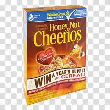 honey nut cheerios transpa
