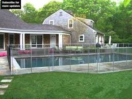 Pool Fence Ideas Landscaping Fence Collection And Designs Youtube