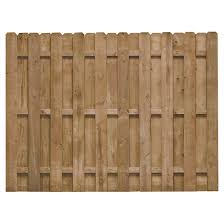 Fence 6 X 8 Pre Assembled Shadow Fence 73000668 Rona
