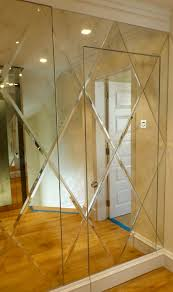 bevelled edge mirrors glass in south