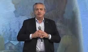 """Alberto Fernández afirmó hoy que el 17 de octubre """"la historia cambió para  siempre"""" en Argentina"""