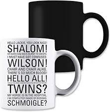 shut up jim quotes friday night dinner magic tea coffee mug
