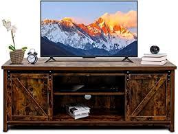 bizzoelife 60 inch barn door tv stand
