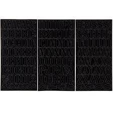 Black Bold Font Vinyl Stickers Hobby Lobby 1794387