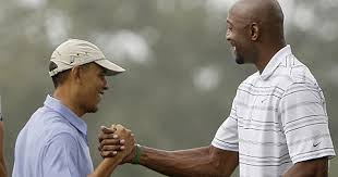 Alonzo Mourning joins President Obama for a round of golf - Los Angeles Times