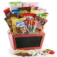 candy gift baskets retro candy