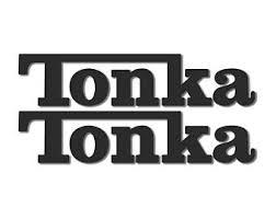 Tonka Decal Etsy