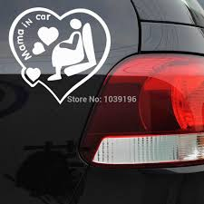 Newest Design Funny Car Sticker Mama In Car Decal For Toyota Ford Chevrolet Volkswagen Tesla Honda Hyundai Kia Lada Mama In Car Car Stickerfunny Car Stickers Aliexpress
