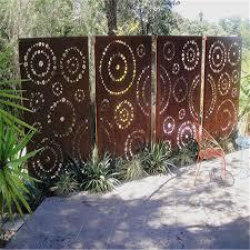 china metal screens panels corten steel