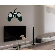 Game Controller Wall Decal Vinyl Decal Car Decal Idcolor008 25 Inches Walmart Com Walmart Com