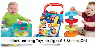 infant learning toys for ages 6 9