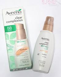 aveeno clear plexion bb cream