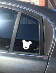 Pitbull Decal Pitbull Sticker Love A Bull Car Decal Pitbull Parent Slrustic