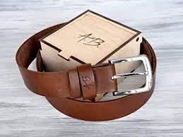 custom leather belt mens leather belt