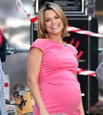Pregnant Savannah Guthrie Leaving ...