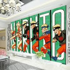 Naruto Wallpaper Japanese Anime 3d Wall Mural Kids Boys Bedroom Tv Background Custom Cartoon Wallpaper Livingroom Large Wall Art Rolls Movie Wallpaper Movie Wallpapers From Monkey Zabrina 15 28 Dhgate Com