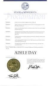State of Minnesota Proclamation