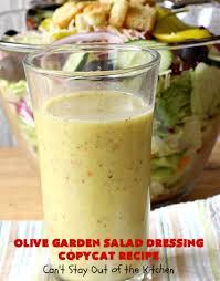 olive garden salad dressing copycat