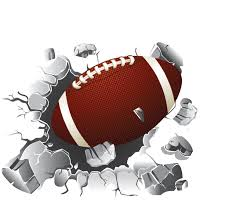 Football Wall Decal Football Decor Vinyl Wall Graphics Removable Sticker Football Wall Art Boy S Bedroom Decal Sports Theme Stickers