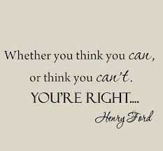 Winston Porter Whether You Think You Can Henry Ford Inspirational Quote Wall Decal Reviews Wayfair