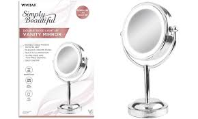 vivitar double sided light up vanity