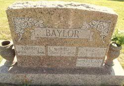 Myrtle Morris Baylor (1920-1961) - Find A Grave Memorial