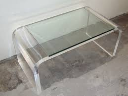 coffee table small acrylic coffee