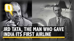 jrd tata the aviation pioneer who gave