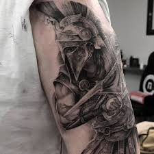 Image May Contain One Or More People Tatuagem Guerreiro
