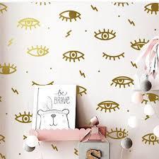 Eye Wall Decal Eyelashes Decal Eyelashes Eye Decal Eyes Etsy