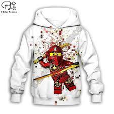 Boys Sweatshirts Legoes Long Sleeved Baby Ninjago Girls hoodies ...