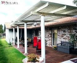 louvered roof system cost