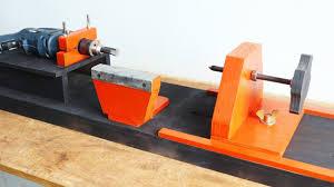 homemade woodworking lathe make a