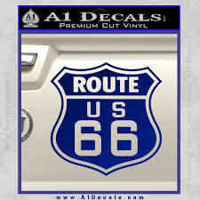 Route 66 Decal Sticker A1 Decals