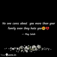 no one cares about you m quotes writings by salah