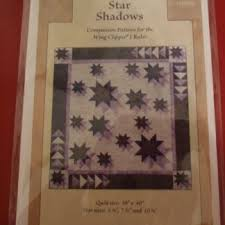 "Deb Tucker ""Star Shadows"" Companion Pattern Finished size 28"" x 40"""