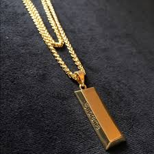 supreme accessories gold bar chain
