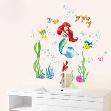 Disney Little Mermaid Wall Stickers The Treasure Thrift