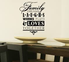 Children S Bedroom Boy Decor Decals Stickers Vinyl Art Our Family Dreams Laughs Works Plays Loves Vinyl Word Decal Sticker Wall Letters Proflow Cl