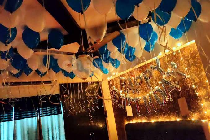 Image result for Best home decor ideas for a birthday Surprise""